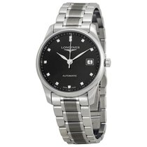 Longines Master Collection Automatic Black Dial Stainless...