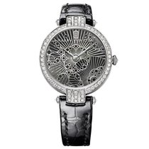 Harry Winston [NEW] Premier Lace 31mm quartz 18K white gold...