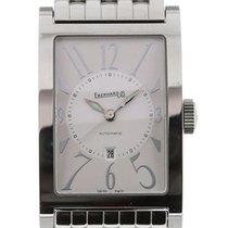 Eberhard & Co. Les Courbées Silver Dial Date