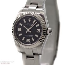 Rolex Oyster Perpetual Lady Ref-176234 Stainless Steel Papers...