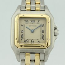 Cartier Panthere Quartz 18k Gold and Steel Lady 188921