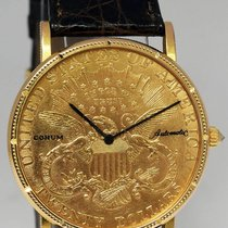 Corum $20 U.S. Gold Coin Mens Watch 18k Yellow Gold &...