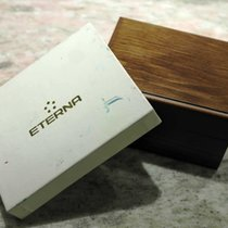Eterna vintage wooden watch box very nice condition