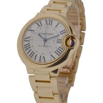 Cartier WGBB0005 Ballon Bleu Ladies 33mm Automatic in Yellow...