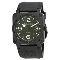 Bell & Ross Men's BR0392-MIL-CE Military Automatic Watch
