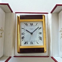 Cartier Alarm Desk Clock Must de Cartier Pendulette
