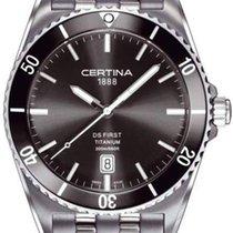 Certina DS First Ceramic Herrenuhr Titanium C014.410.44.081.00