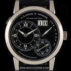 A. Lange & Söhne 18k White Gold Black Dial Lange 1...