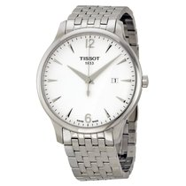 Tissot Men's T0636101103700 Tradition Silver Dial Watch