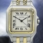 Cartier Panthere 18k &ss Watch W/date C.2000s 5178