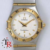 Omega Constellation Lady 18k gold steel,