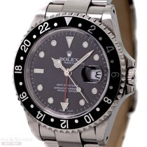 Rolex GMT Master II Ref-16710 Stainless Steel Box Papers...