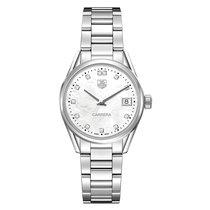 TAG Heuer Carrera 32mm Date Quartz Ladies Watch Ref WAR1314.BA...