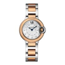 Cartier Ballon Bleu Quartz Ladies Watch Ref W3BB0005