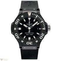 Hublot Big Bang 44mm King Black Ceramic Rubber Men`s Watch