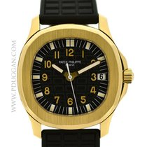 Patek Philippe 18K YG Gents Aquanaut 35mm