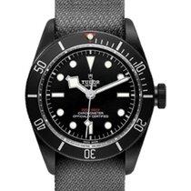 Tudor Heritage Black Bay Dark 79230DK Black Index Black PVD...