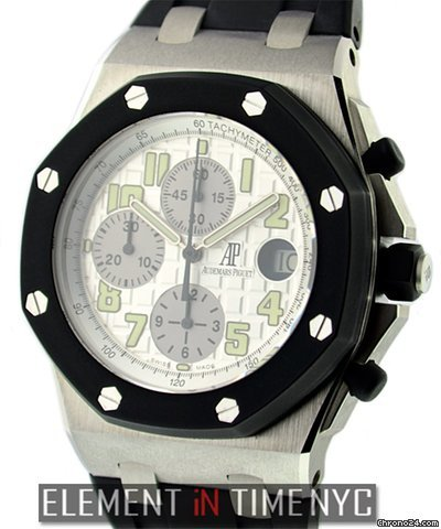 Audemars Piguet Royal Oak Offshore Chronograph Steel Rubber Clad