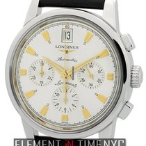 Longines Conquest Heritage Chronograph Steel 38mm Ref. L1.641.4