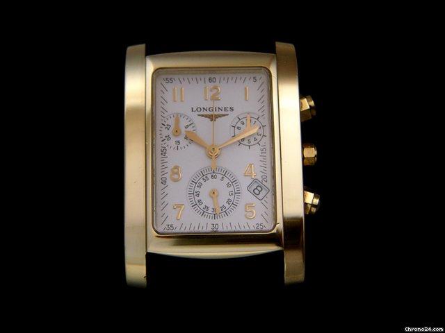 Longines Dolce Vita Men's Solid Gold 18k Chronograph