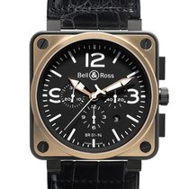 Bell & Ross BR01-94 Chronograph 46mm BR01-94 Pink Gold Carbon