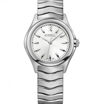 Ebel Wave Silver Dial Stainless Steel Ladies Watch