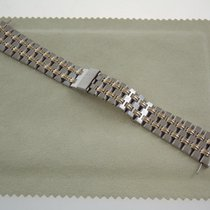 Blancpain Stahl Goldband 18 mm für diverse Modelle z.B Villeret