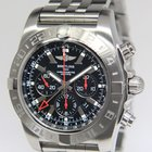 Breitling Chronomat GMT Steel Black Dial Limited Edition Mens...