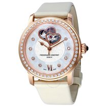 Frederique Constant World Heart Mother of Pearl Dial Rose...