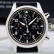 IWC IW371701 Pilot Chronograph SS / Alligator (24843)