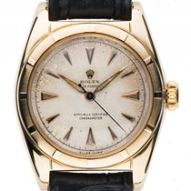 Rolex Oyster Perpetual Bubble Gelbgold Automatik 32mm Ref.6011...
