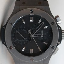 Hublot Big Bang 44mm in tungsten and titanium with black...