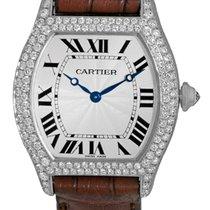 "Cartier Diamond ""Tortue"" Strapwatch."