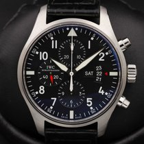 IWC Pilot - IW3777 - Chronograph - Black Dial - Complete Set -...