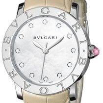 Bulgari Bvlgari 33 Perlmutt Diamanten