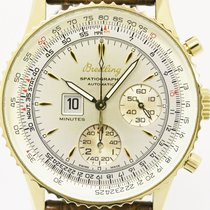 Breitling Spatiographe 18k Solid Gold Automatic Mens Watch...