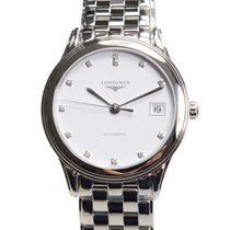 Longines Flagship Stainless Steel White Automatic L4.774.4.27.6
