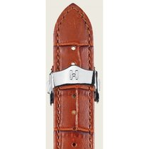 Hirsch Lord Uhrenarmband goldbraun L 04528070-2-18 18mm