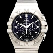 Omega Constellation Double Eagle Co-Axial Chronograph Stainles...