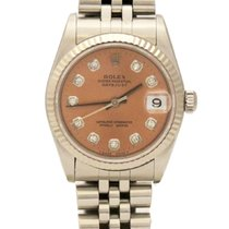 Rolex Datejust Mid-Size Automatic 31mm Factory Diamond Dial Watch