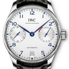 IWC Portugieser Automatic Black Strap Men's Watch