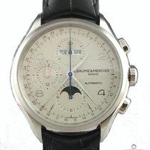 Baume & Mercier Clifton Chronograph  NEU mit Box+Papieren