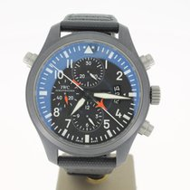 IWC Top GunPilot  Double  Chronograph (B&P2010) 46MM