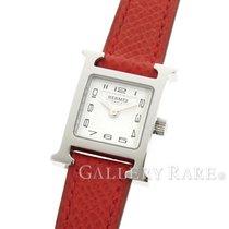 Hermès H Watch Mini Stainless Steel 17MM Quartz Ladies Watch