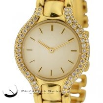 Ebel Beluga 18k Yellow Gold (77.2gr) 24.5mm Quartz With...