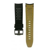 Jacques Lemans -black Rubber & Leather Strap