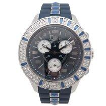 Dior neuf montre christian dior christal cd11431ir001 chronograph