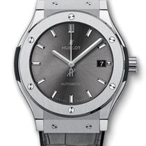 Hublot Classic Fusion 45mm Titanium Racing Grey Automatic Watch