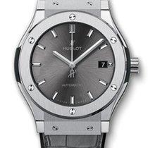 Hublot Classic Fusion 45mm Titanium Racing Grey Automatic Watch