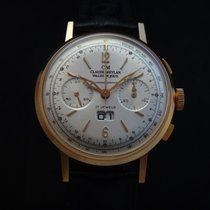 Claude Meylan Rare Vintage Big Date Chronograph NOS 60's